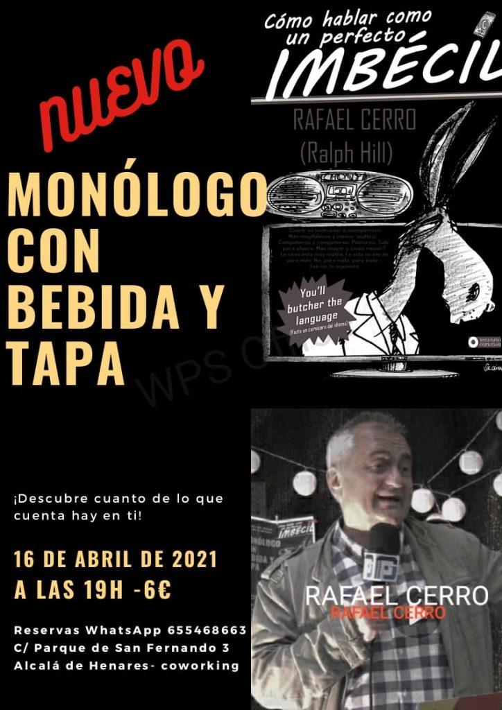 Monologo Rafael Cerro