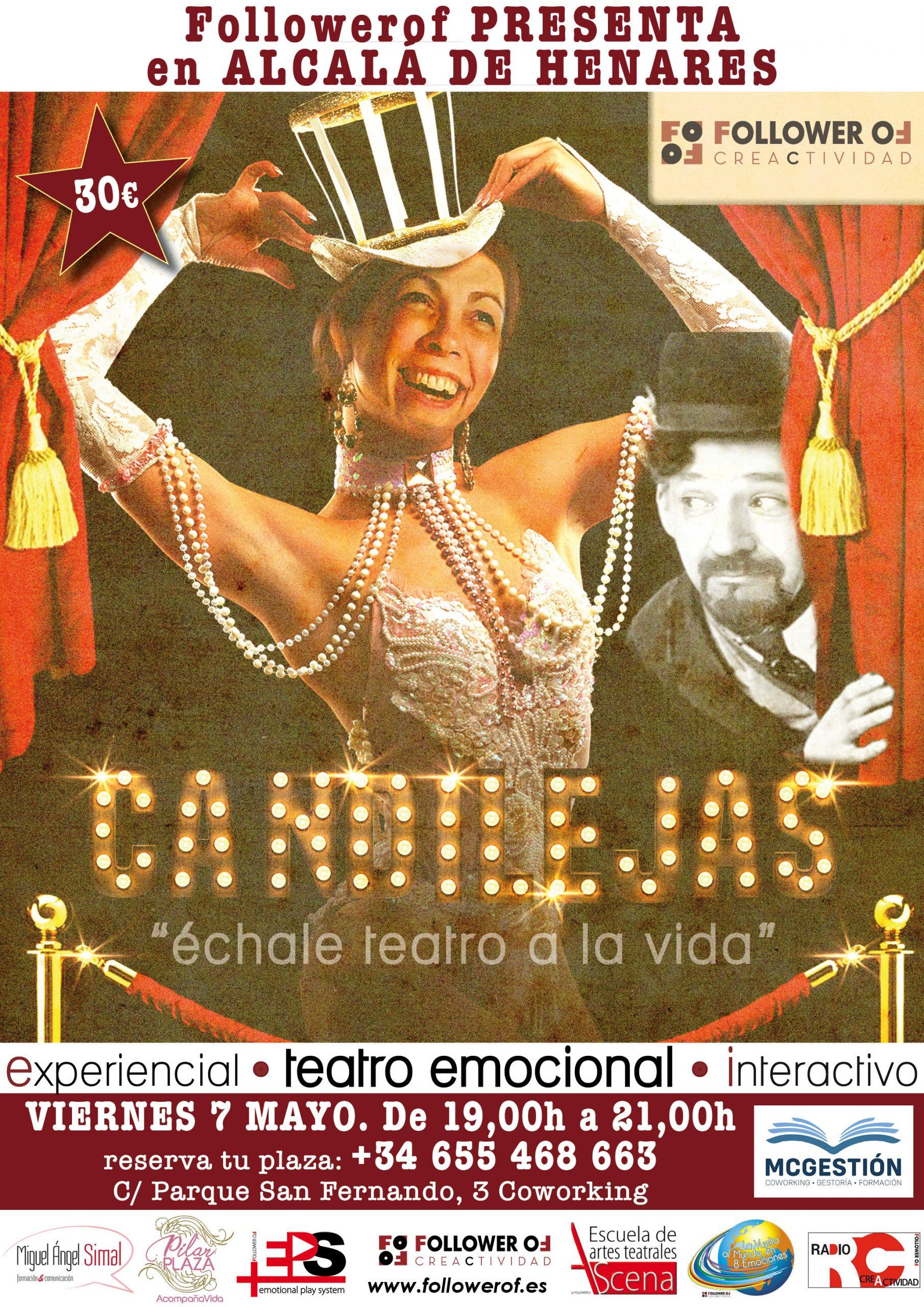 Cartel teatro Candilejas