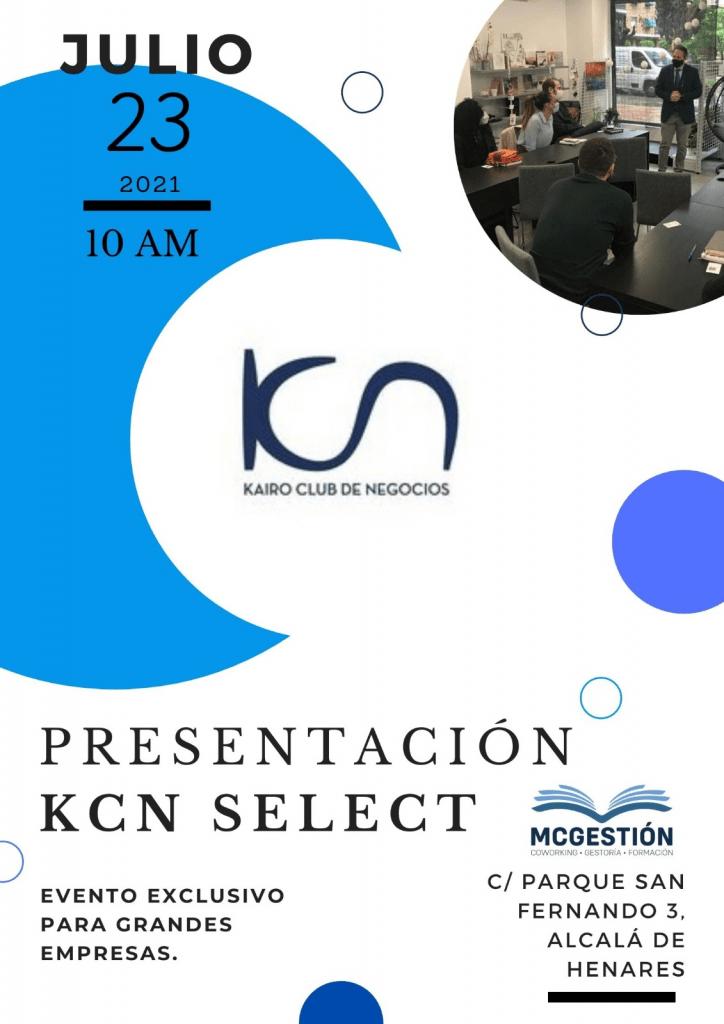Presentación KCN Select