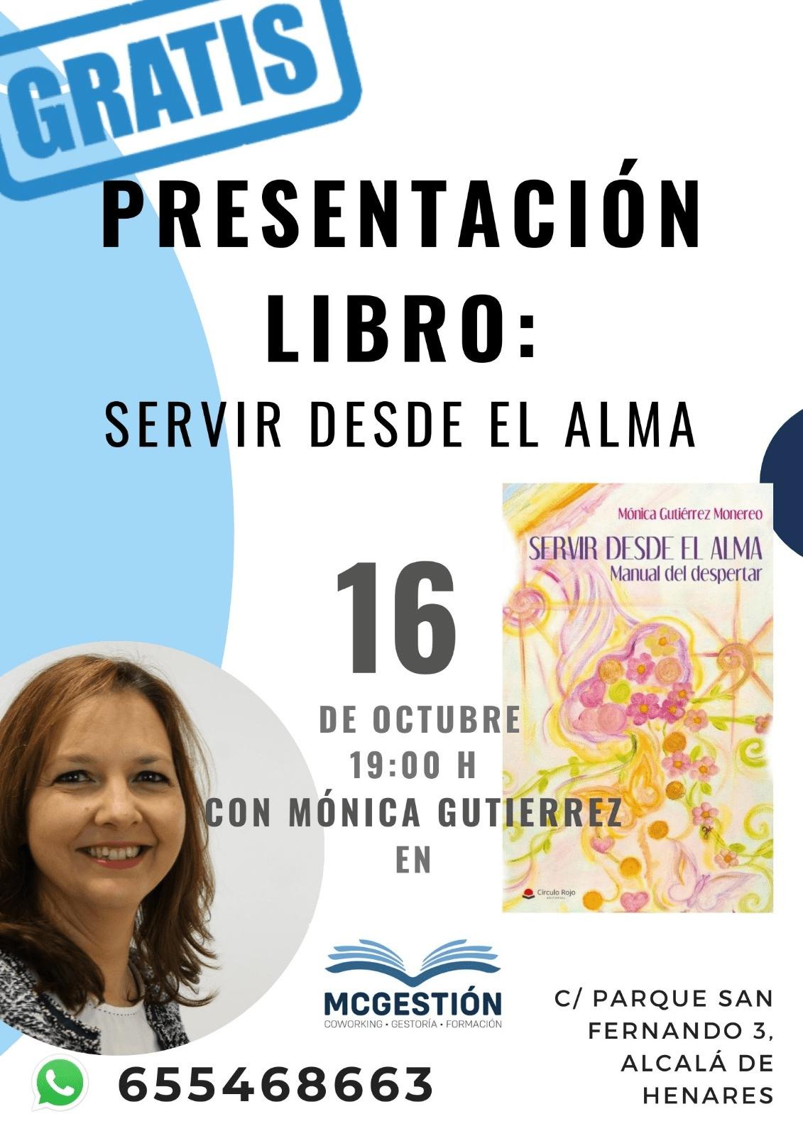 PRESENTACION LIBRO SERVIR DESDE EL ALMA